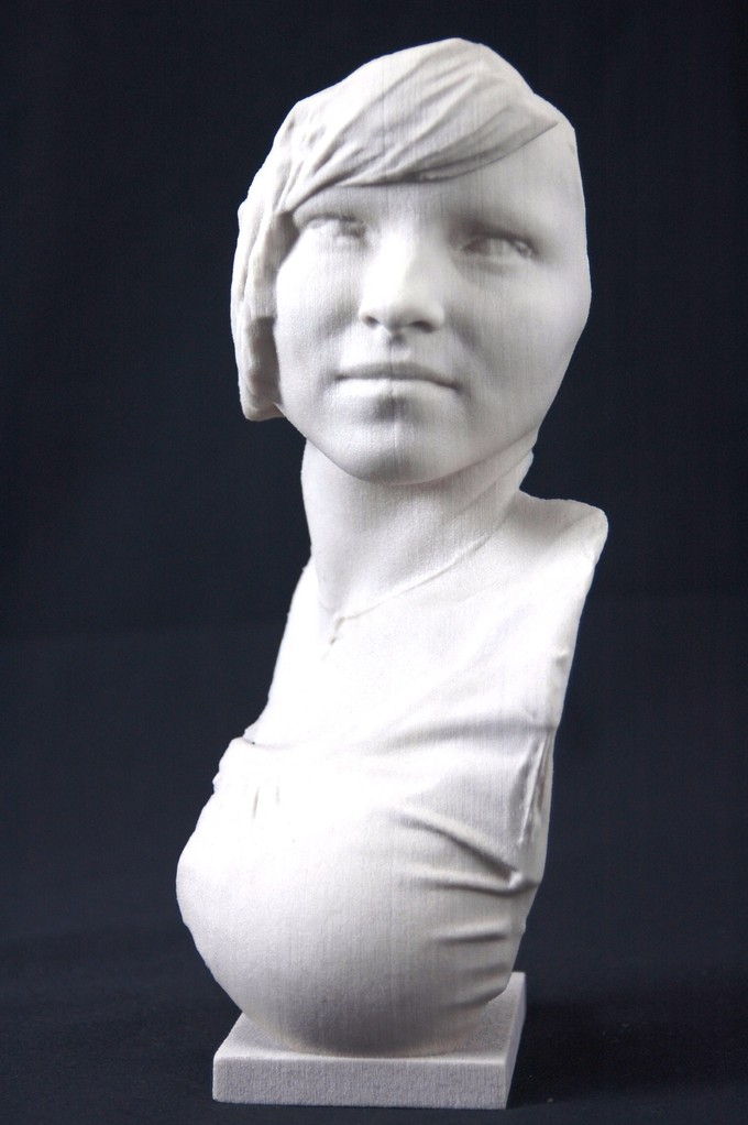 3D bust Ina