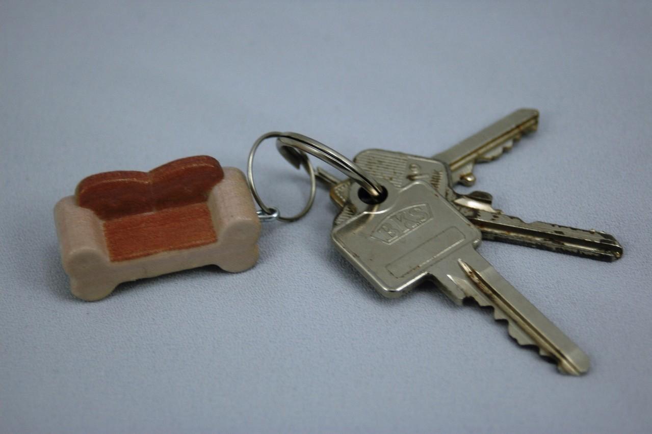 Schlüsselanhänger im 3d Druck Verfahren