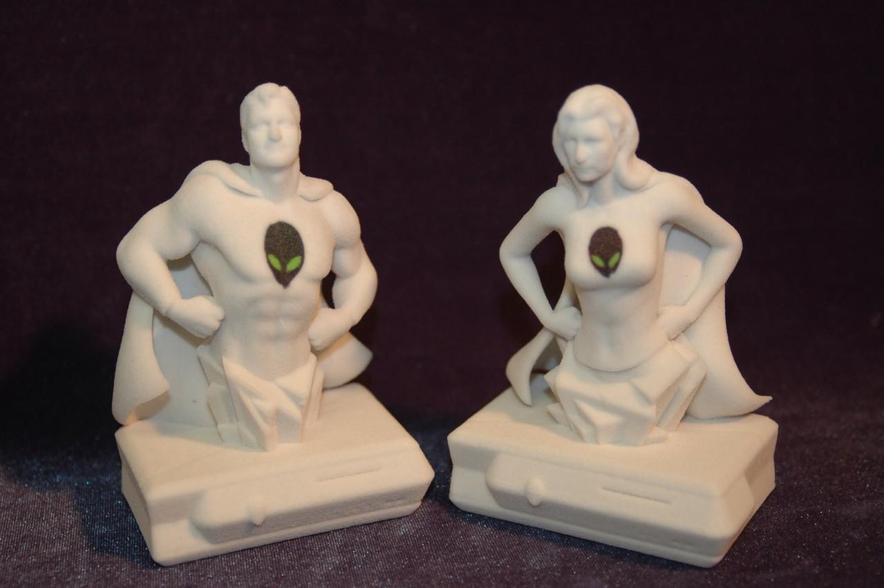 Die Urmodelle der Bodyscan Kleinserie
