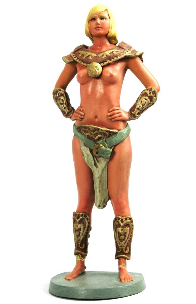 3D Fantasy Figur