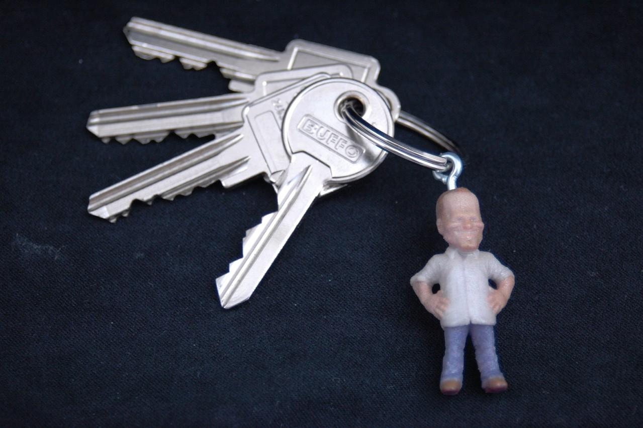 Schlag den Raab PC Spiel Figur als Schlüsselanhänger 02
