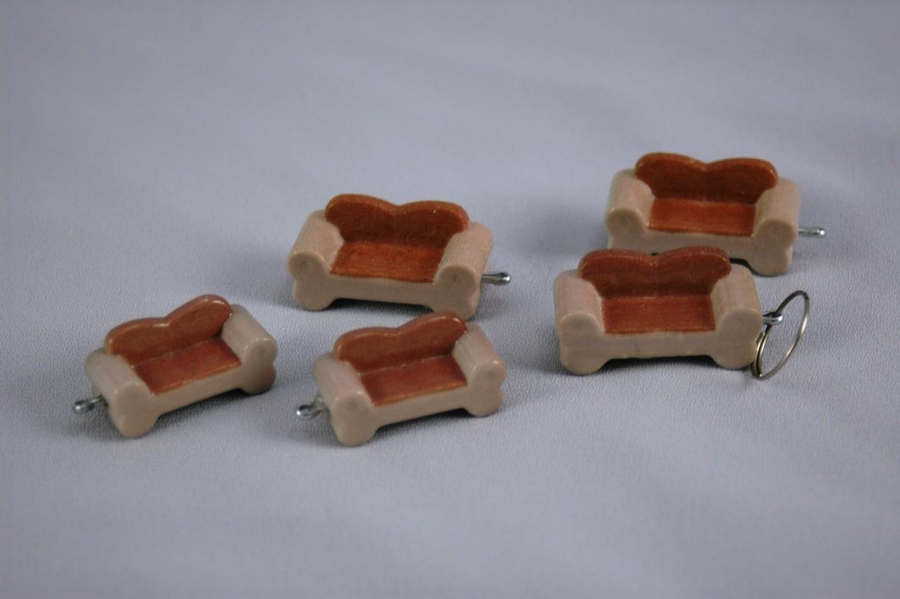3d Modell vom Knochen Sofa