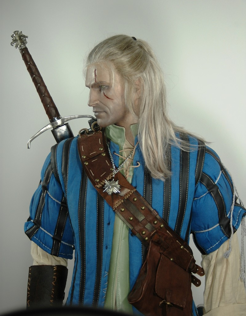 life-like mannequin from Gerald von Riva The Witcher 2