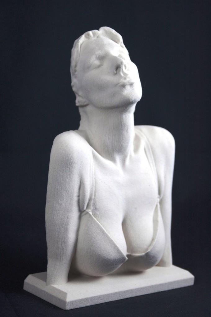 3D Art Der Kuss