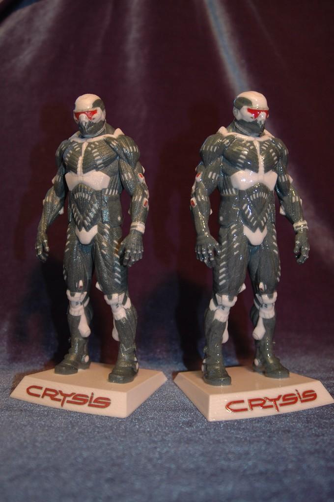 Prototypen Figuren vom Nanosuite 2