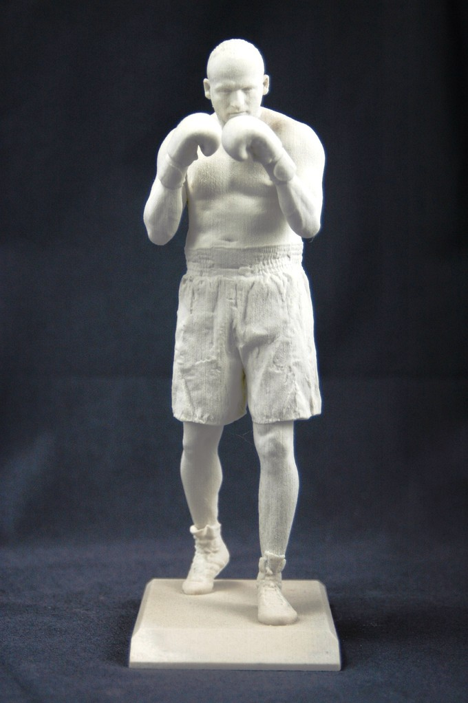 fertiger 3D Druck vom Boxer