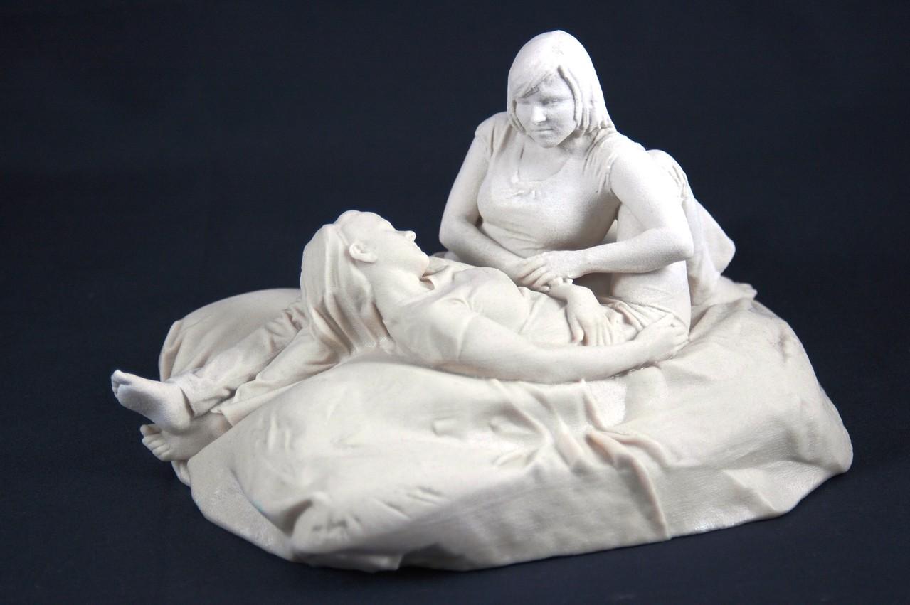 fertige 3D Arbeit von Ina und Olga