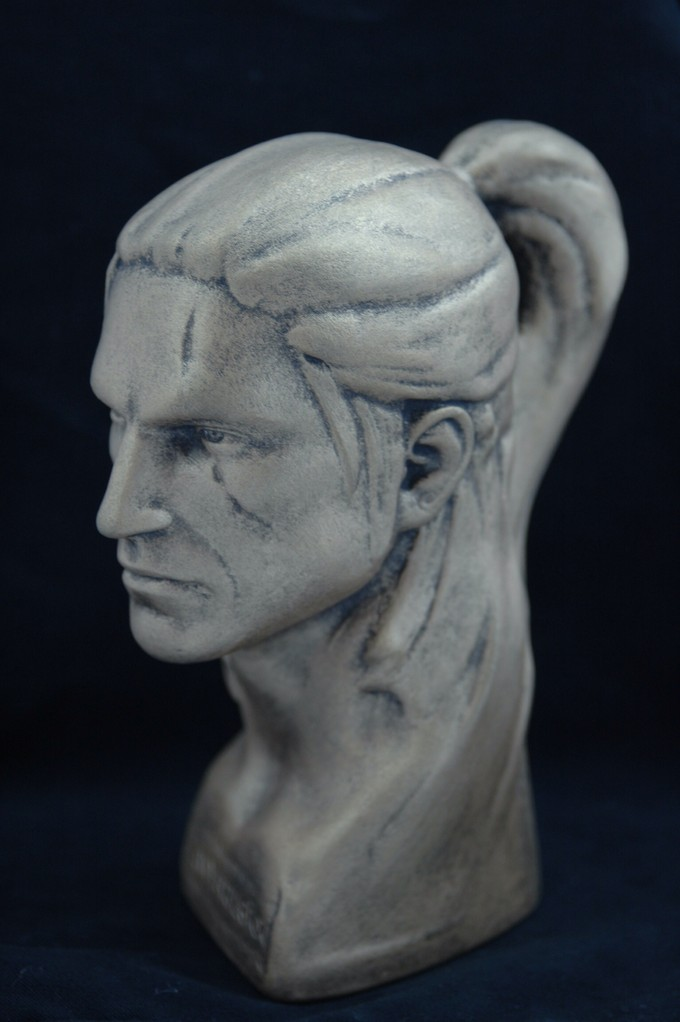 Bust from The Witcher 2