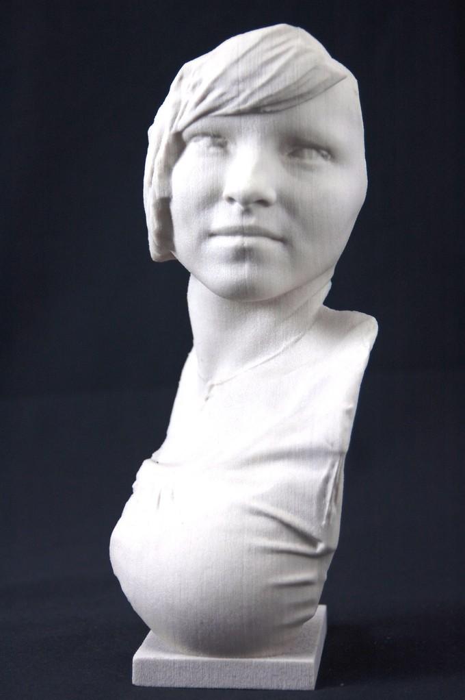 3D Büste Ina