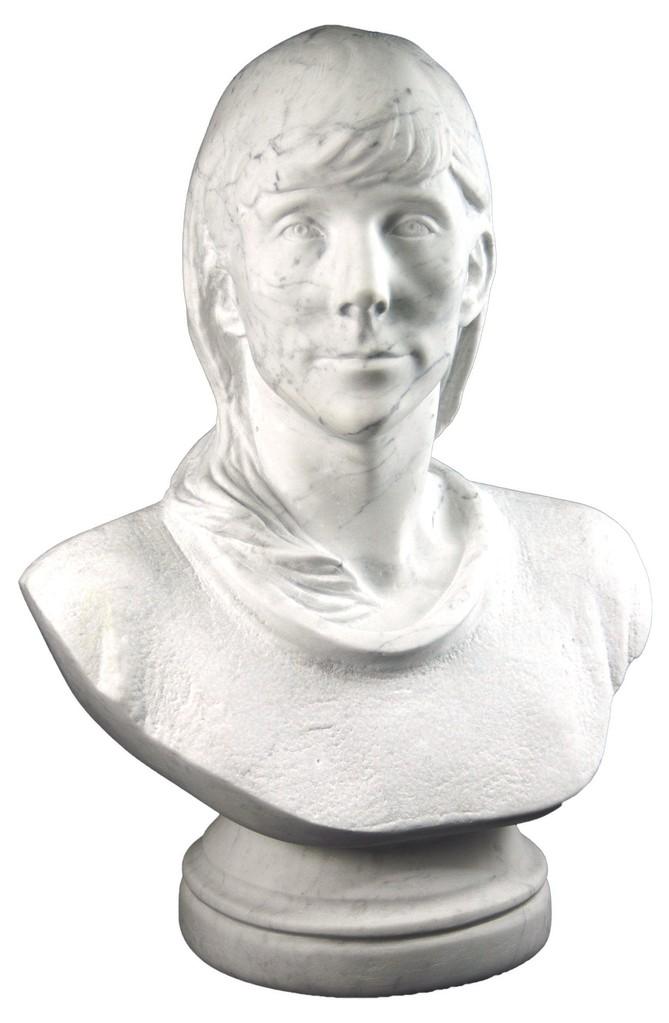 3D Büste in Marmor
