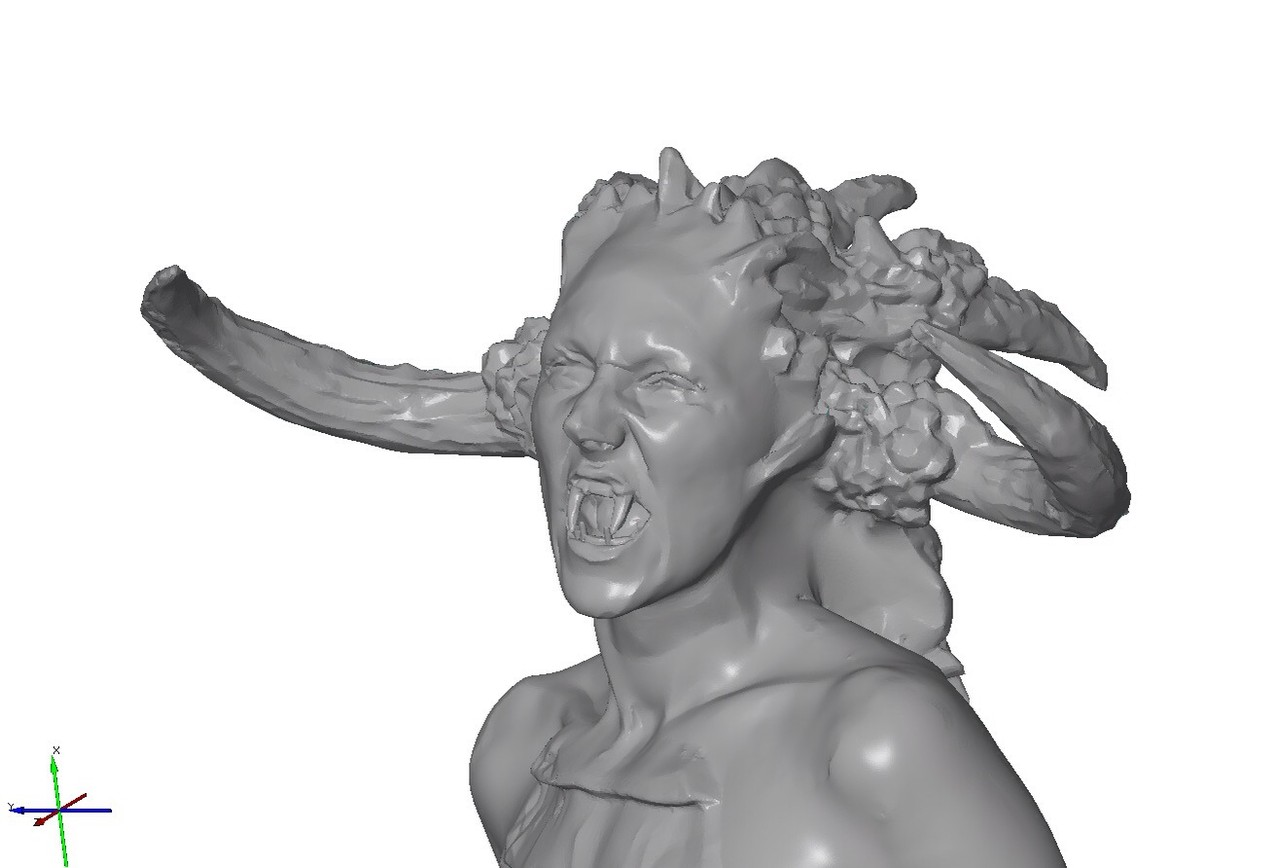 Digital sculpting- Modeling the 3D File