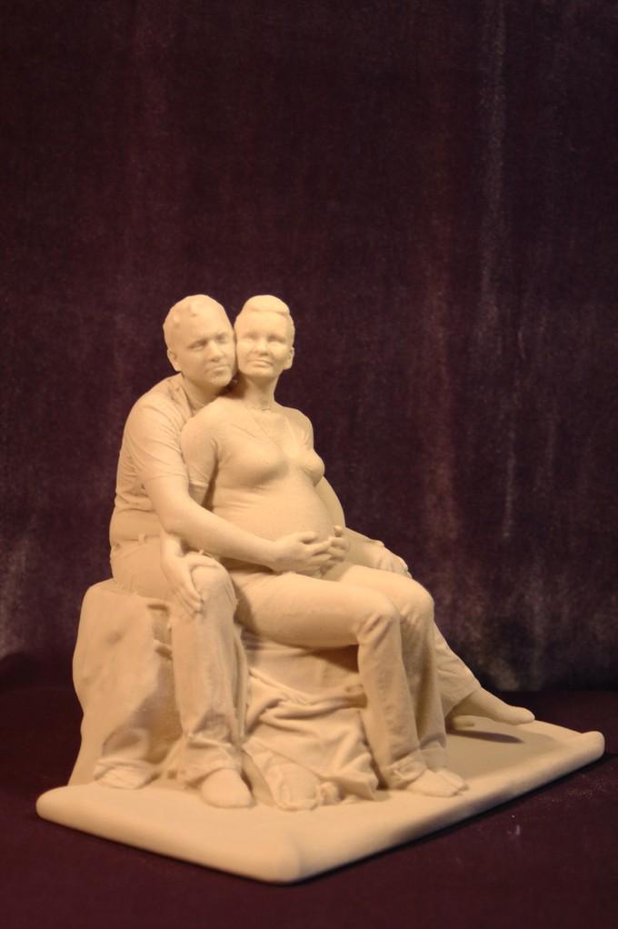 Schwangerschafts Paar Scan
