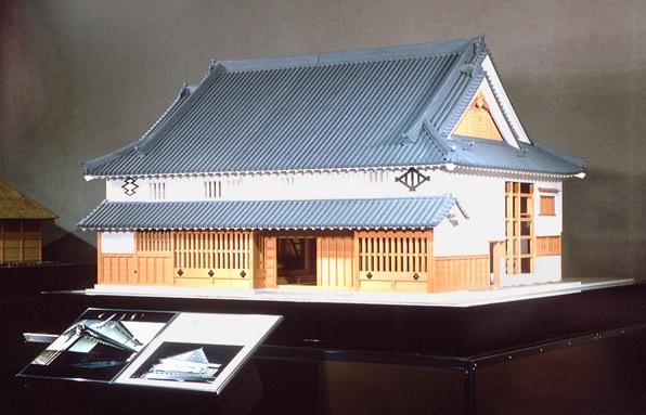 今西家住宅 模型  国立歴史民俗博物館 リンク LINK