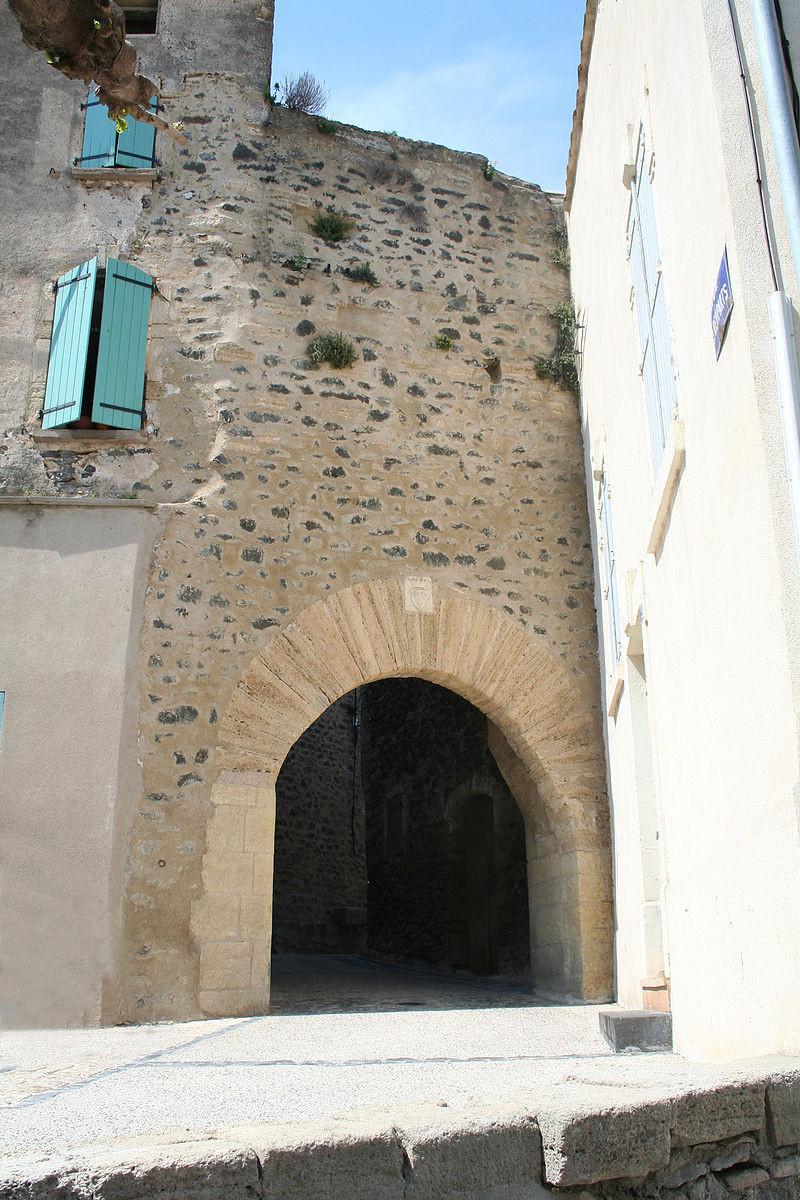 Porte 1 du château