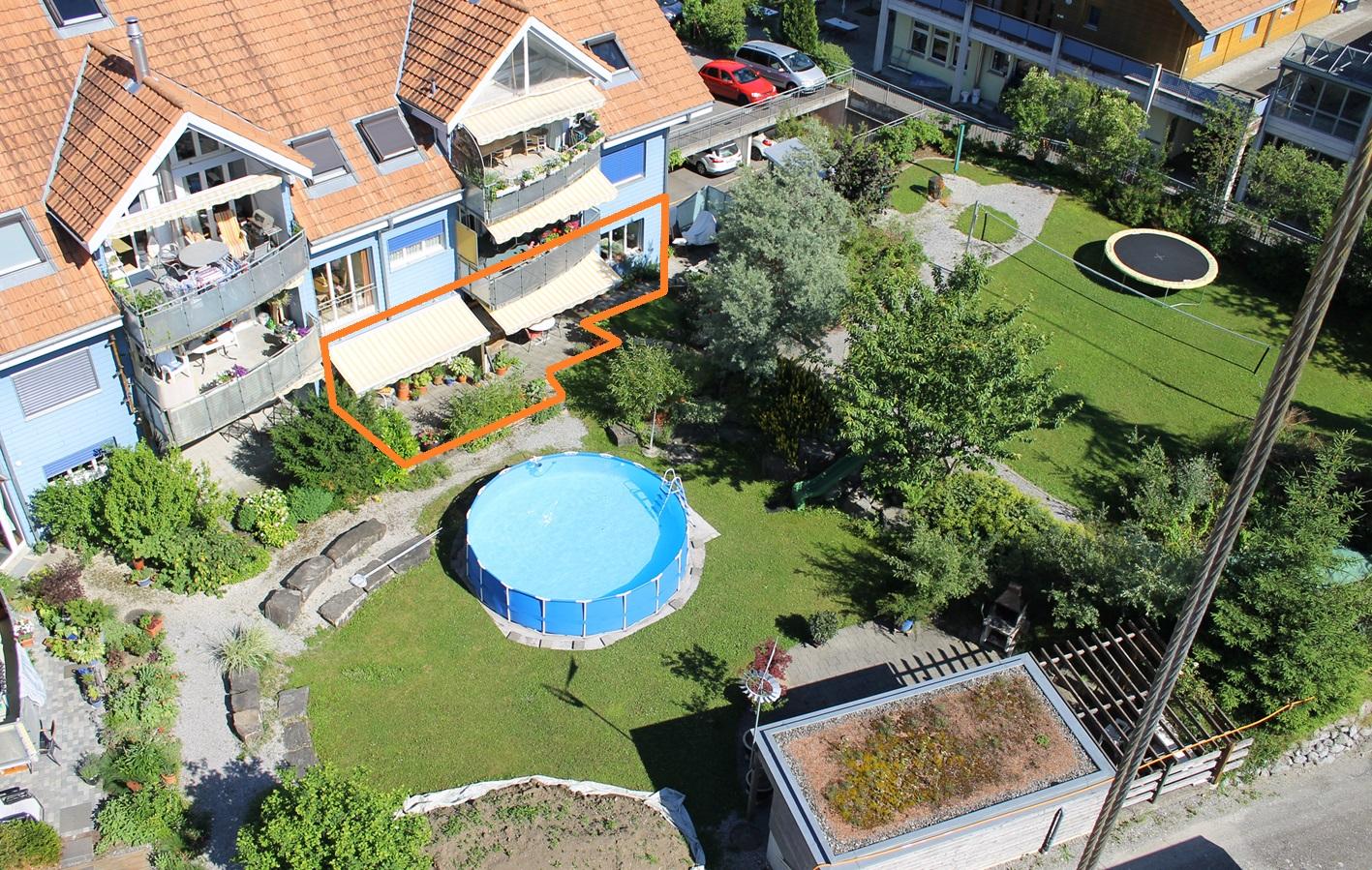Mehrfamilienhaus mit Innenhof