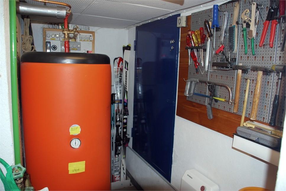 Kellerraum mit Boiler