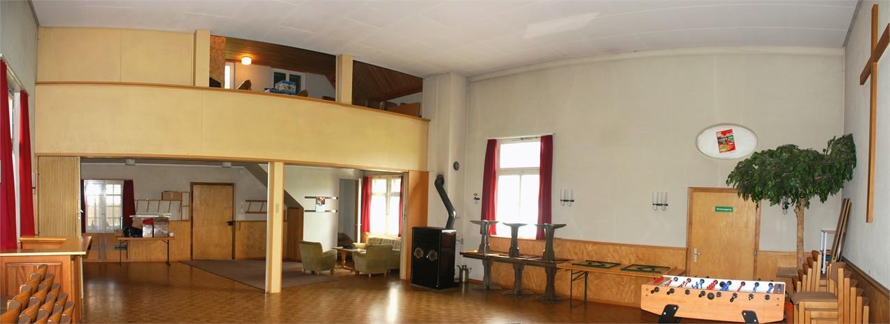 Vereinslokal Saal
