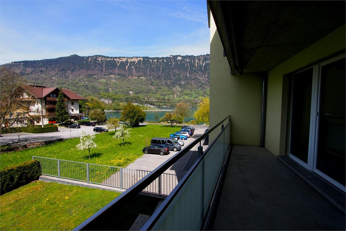 Balkon Aussicht Richtung See, Nordwest