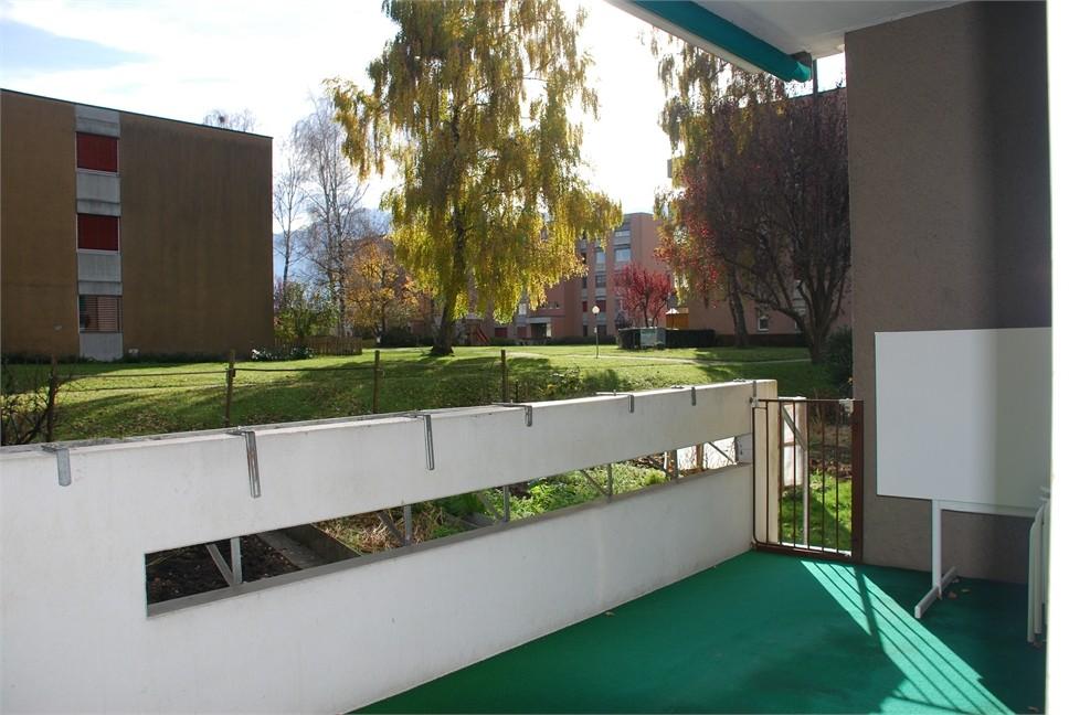 Balkon, Aussicht Süd