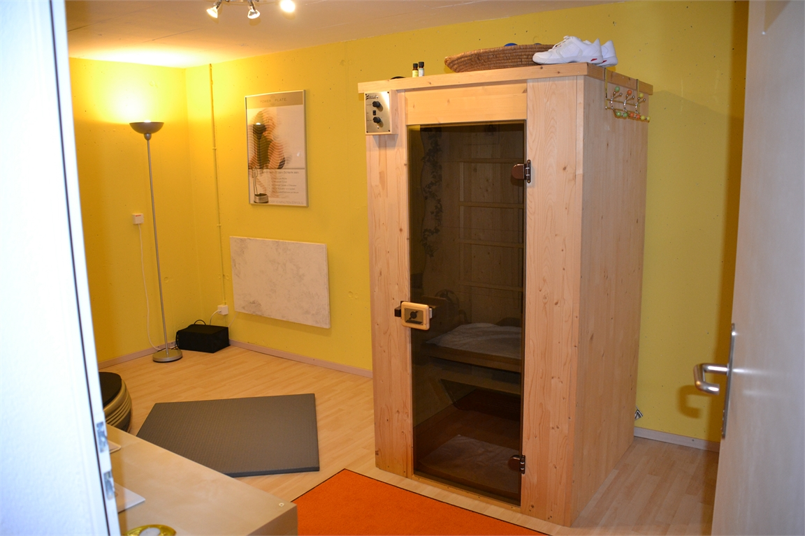 Infrarot Sauna im UG