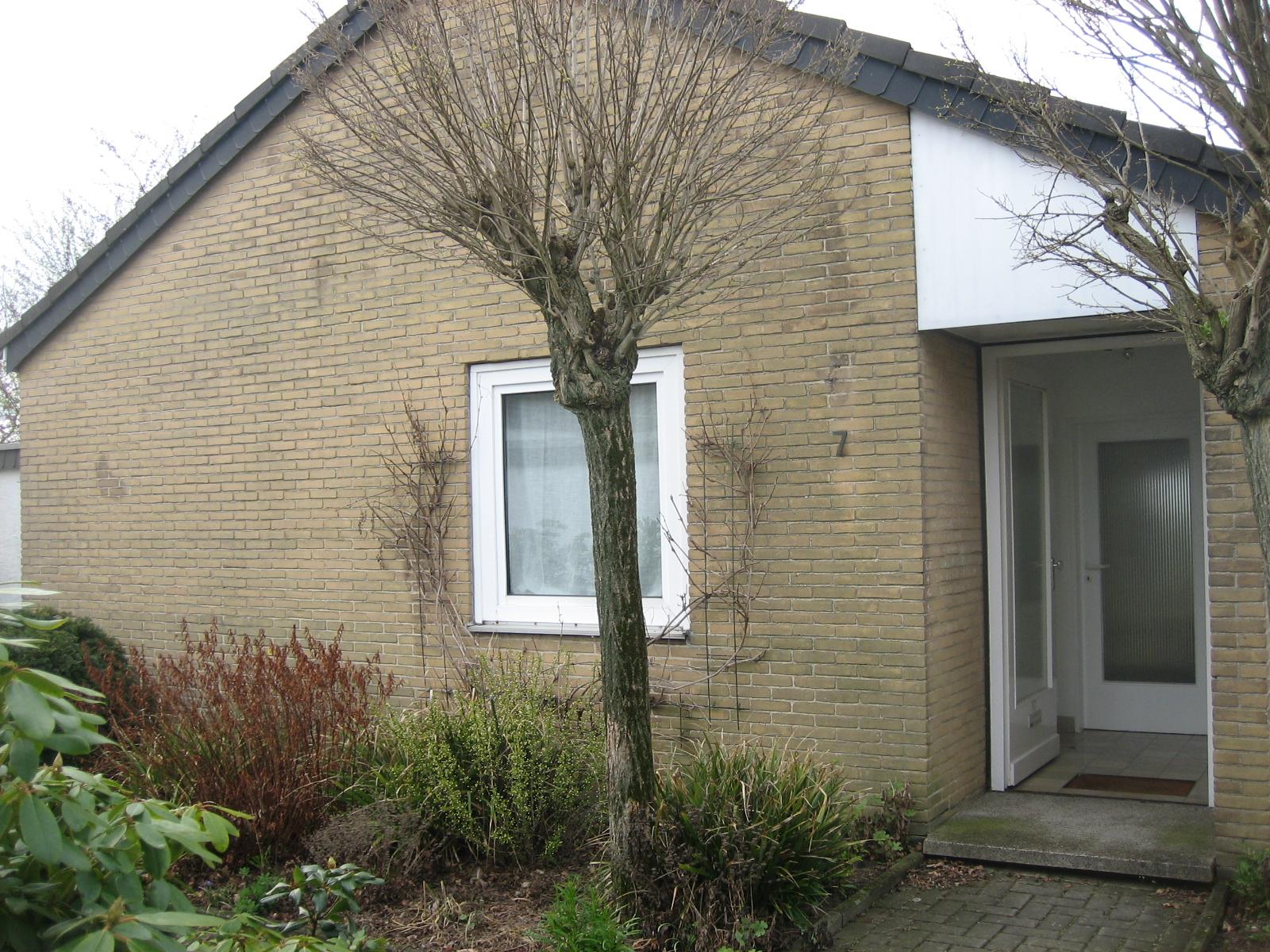 Barrierefreies Wohnen - Gartenhaus - vorher