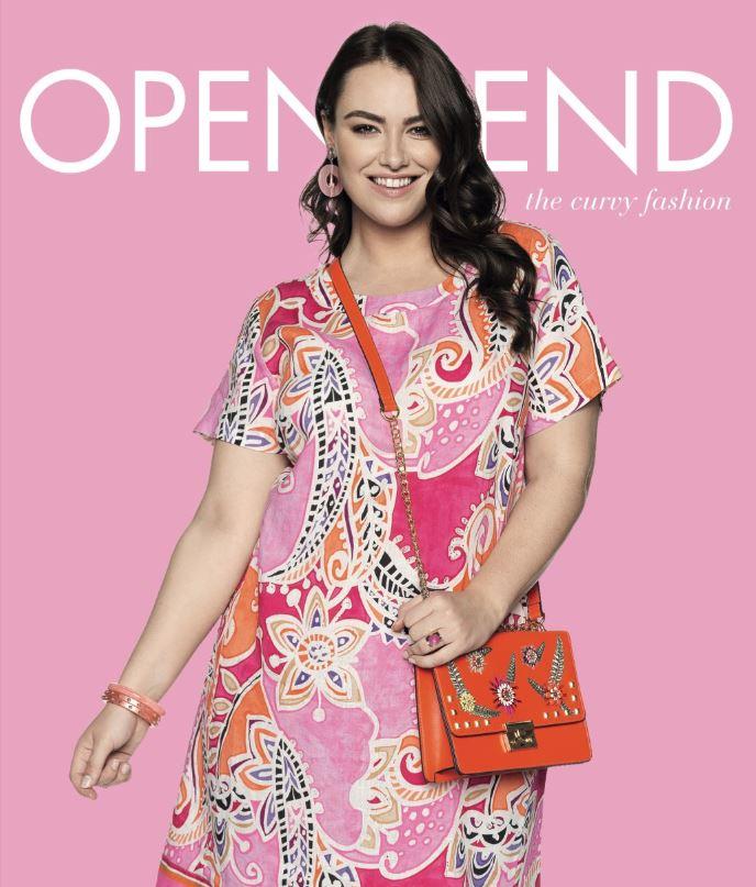 Kleid in Frühlingsfarben von Open End