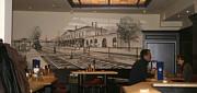 Wandgemälde in Gaststätten und Gastronomie