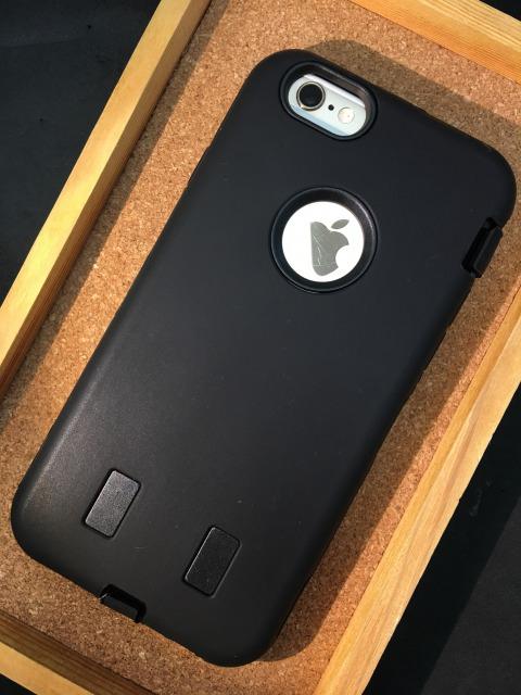 iPhone6/6S  シリコンケース   耐衝撃タイプ 各色1480円
