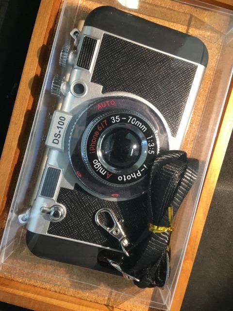 iPhoneSE/6/6S カメラケース 各色2380円