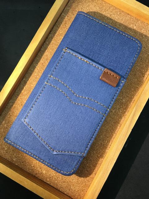iPhone6/6S/6Plus/6Splus  デニムケース  各色2280円
