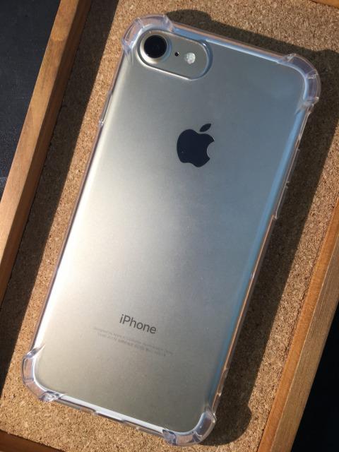 iPhone6/6S/6Plus/6Splus/7/7Plus アンチショック加工TPUケース 各色1880円