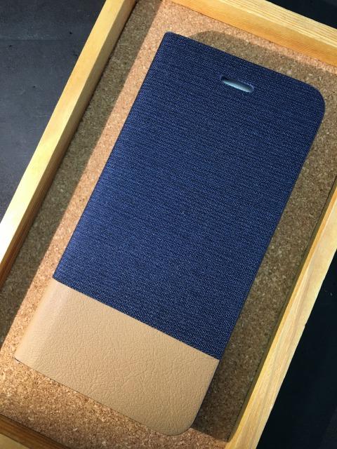 iPhone6/6S/6Plus/6Splus 手帳ケース キャンバス 各色1480円