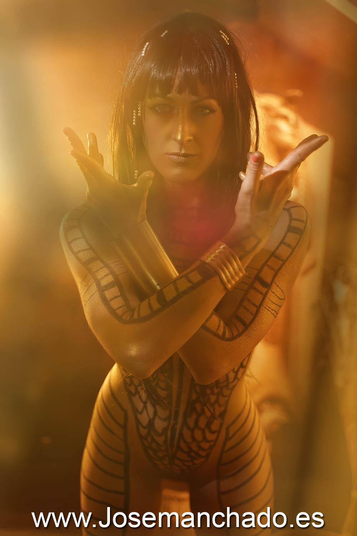 Anck-su-namun, bodypaint momia, fotógrafo bodypaint, book bodypaint, bodypaint madrid, pintura corporal