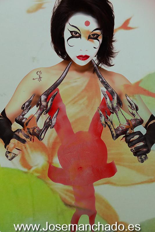 kabuki, kabuki bodypaint, kabuki david mack, david mack, cosplay, hot, nude, hentai, fanservice, fan service, nude, hot, Cosplay Girl, cosplay girls, asian girl, fotografo madrid, books madrid, fotografo modelos madrid, agencias modelos madrid