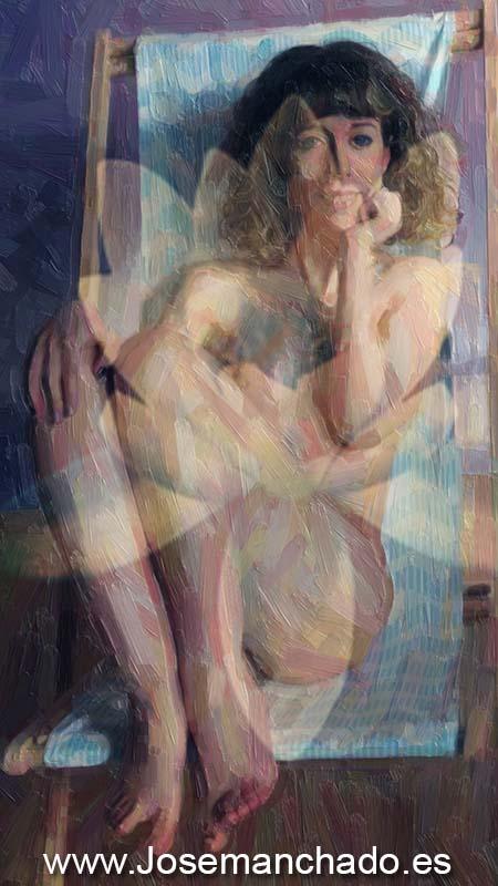 painting nude, fotografo madrid artistico, desnudo artistico, fotografo cuadros, fotografo madrid