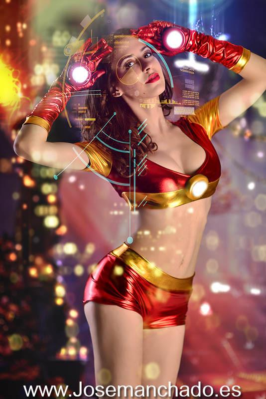 cosplay ironette, ironman sexy, ironwoman, ironette hot, ironette sexy