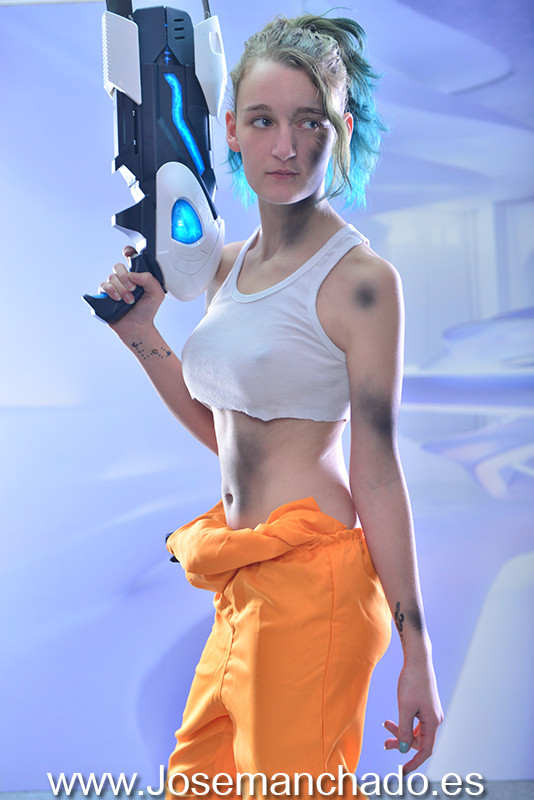 portal, portal chell, cosplay, hentai, fanservice, fan service, hot, Cosplay Girl, cosplay girls, asian girl, fotografo madrid, books madrid, fotografo modelos madrid, agencias modelos madrid