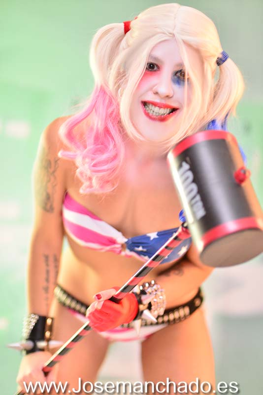 Harley Quinn, fan service, hot, Cosplay Girl, cosplay girls, asian girl, fotografo madrid, books madrid, fotografo modelos madrid, agencias modelos madrid