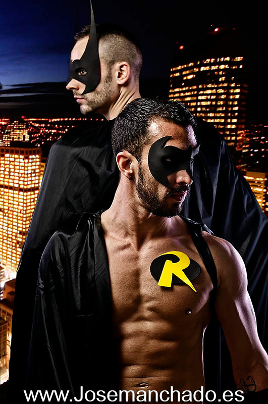 Dlro batman robin
