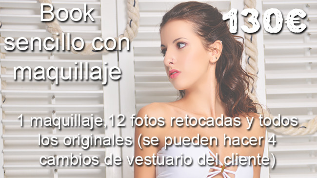 book de fotos, book maquillaje estilismo madrid