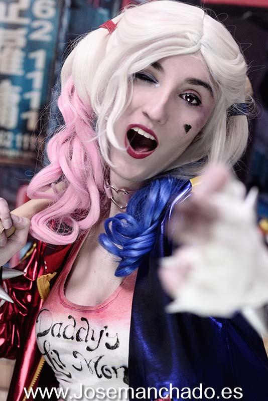 Harley Quinn, fan service, hot, Cosplay Girl, cosplay girls, asian girl, fotografo madrid, books madrid, fotografo modelos madrid, agencias modelos madrid