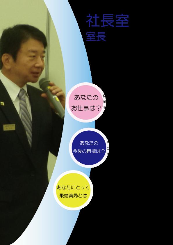 加須 羽生 薬局 社長室