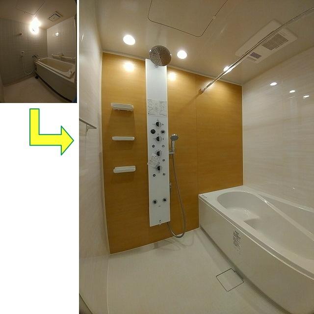 印西市S様邸 浴室 リクシル:リノビオV