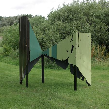 """""""Elephant and Castle 2011 250 cm x 280 cm x 120 cm Seekiefer, Fichte, Kunstharzlack"""