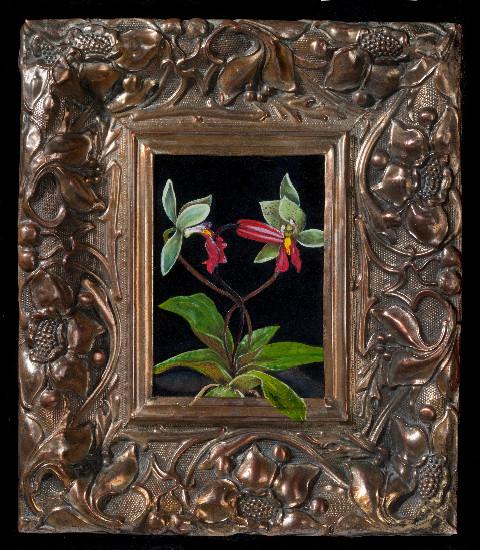 »my sweetest taboo» 2011 · Öl auf Holz · 30 x 28 cm