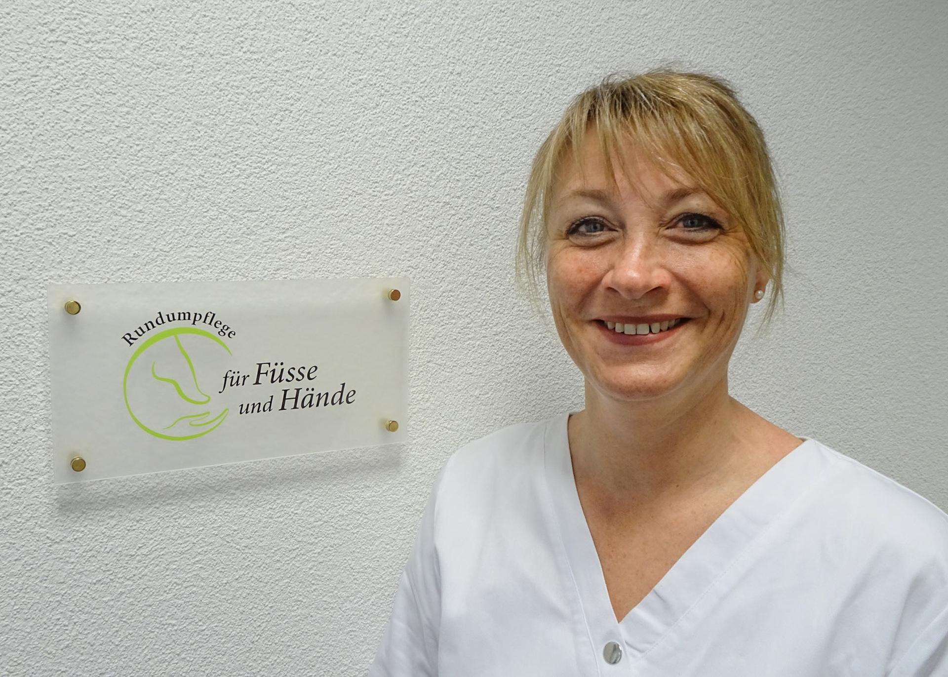 Michaela Michel, Fusspflegerin SFPV mit Diplom