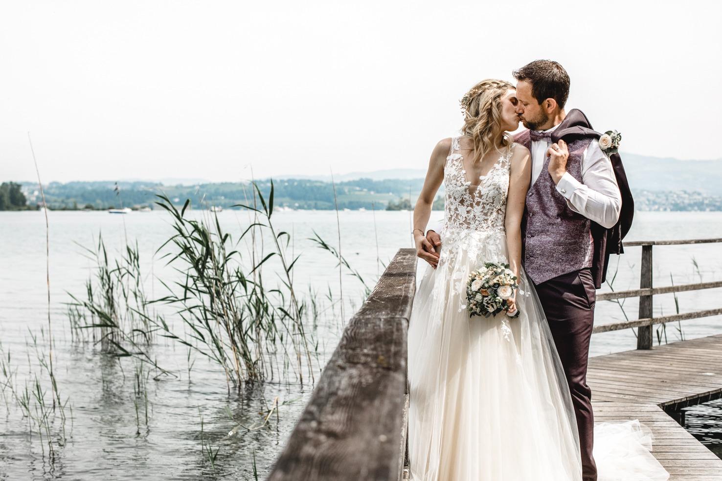 Braut 2021 Carina Airbrush und Boho-Hairstyling