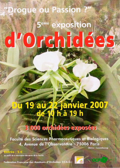 Faculté de Pharmacie Paris 8 - Exposition 2007
