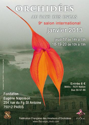 Affiche du salon 2013