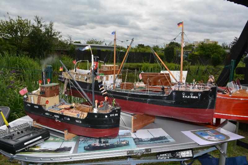 Auf unserem Sommerfest waren der Modellbauverein Bad Schwartau dabei. (Foto: Barbara Engl)